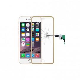 Film verre trempé Iphone 6/6S intégrale rose titanium