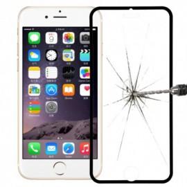 Film verre trempé Iphone 6 plus intégrale blanc titanium