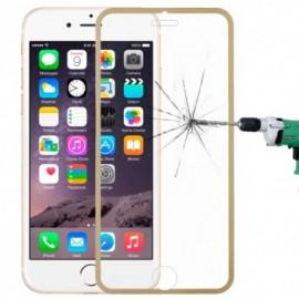Film verre trempé Iphone 6 plus intégrale rose titanium