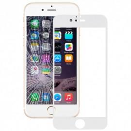 Film verre trempé Iphone 6 plus intégrale blanc