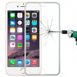 Film verre trempé Iphone 6/6S intégrale blanc titanium