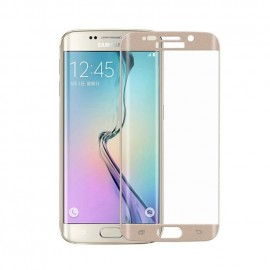 Film verre trempé Samsung Galaxy S6 Edge plus incurvé or