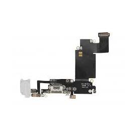 Connecteur de charge + micro + prise jack noir pour Iphone 6S Plus