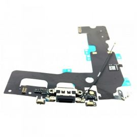 Connecteur de charge + micro + prise jack noir pour Iphone 7 Plus