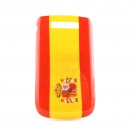 Coque drapeau Espagne pour Blackberry 9800 Torch  + film protection ecran offert