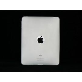 Coque silicone transparente pour Ipad 1 + film protection ecran