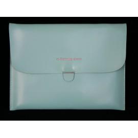 Pochette en simili cuir pour Ipad 2 et Ipad 1+ film protection ecran offert