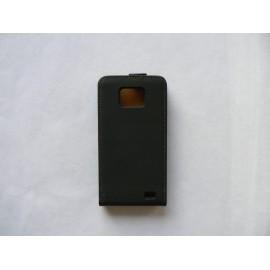 Pochette en cuir pour Samsung I9100 Galaxy S2 + film protection écran
