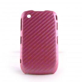 Coque rigide effet carbone pour Blackberry 8520 curve+ film protection ecran offert