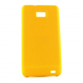 Coque mate Samsung I9100 Galaxy S2 antiderapante + film protection ecran offert