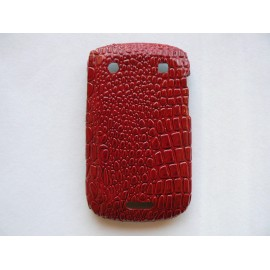 Coque Blackberry Bold Touch 9900/9930 peau de serpent + film protection écran