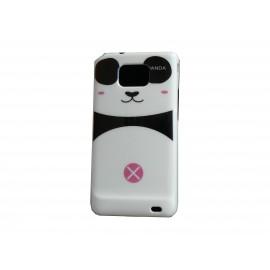 "Coque pour Samsung I9100 Galaxy S2 motif ""Panda"" rose + film protection ecran offert"