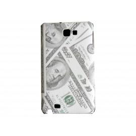 Coque mate billet de 100 dollars pour Samsung Galaxy Note I9220/N7000  + film protection écran offert