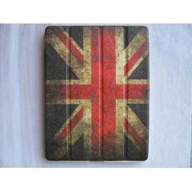 Etui pochette pour Ipad 2 UK/Angleterre vintage + film protection écran