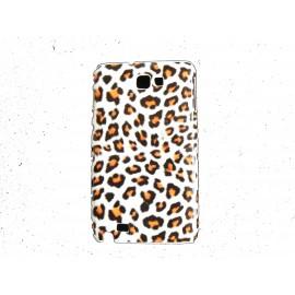 Coque motif léopard beige pour Samsung Galaxy Note I9220/N7000  + film protection écran offert