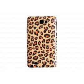 Coque motif léopard marron pour Samsung Galaxy Note I9220/N7000  + film protection écran offert