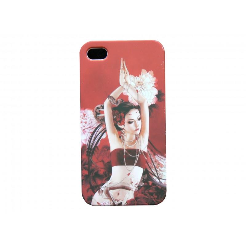 coque iphone 4 manga 9 danseuse perles film protection ecran coques