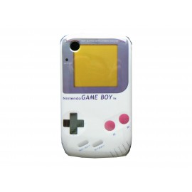 Coque rigide et brillante pour Blackberry 8520 Game Boy + film protection écran offert