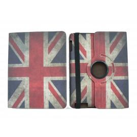 Pochette Ipad 2/3 vintage drapeau UK/Angleterre  version 3+ film protection écran