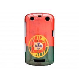 Coque pour Blackberry Curve 9350/9360/9370 drapeau Portugal vintage  + film protection écran offert
