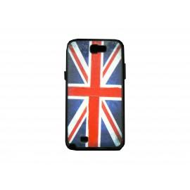 Coque pour Samsung Galaxy Note 2 - N7100  drapeau Angleterrre/ UK + film protection écran offert