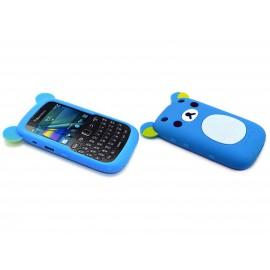 Coque pour Blackberry Curve 9320 silicone koala bleu + film protection écran offert
