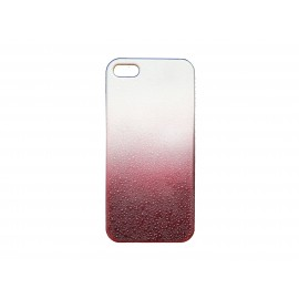 Coque pour Ipod Touch 5 rose effet goutte d'eau + film protection écran