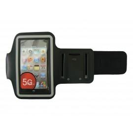Brassard noir pour Iphone 5 - Ipod Touch 5 pourtour phosphorescent