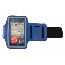 Brassard bleu roi pour Iphone 5 - Ipod Touch 5 pourtour phosphorescent