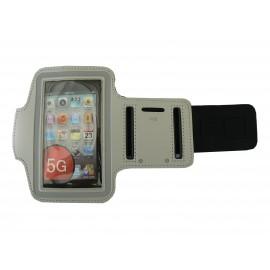 Brassard gris pour Iphone 5 - Ipod Touch 5 pourtour phosphorescent