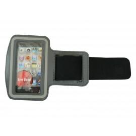 Brassard gris pour Iphone 3G - Iphone 4 - Ipod Touch 4 pourtour phosphorescent