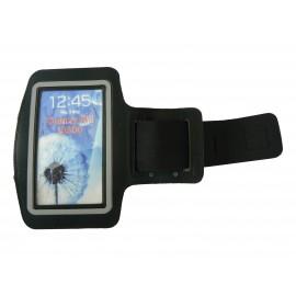 Brassard noir pour Samsung Galaxy S3/S2 - I9300/I9200 pourtour phosphorescent