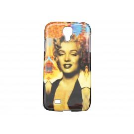 Coque  pour Samsung Galaxy S4 / I9500 Marylin Monroe + film protection écran offert