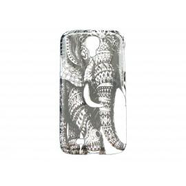 Coque  pour Samsung Galaxy S4 / I9500 éléphant + film protection écran offert