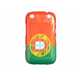 Coque pour Blackberry Curve 9320 drapeau Portugal + film protection écran offert