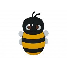 Coque silicone pour Samsung Galaxy Y/S5360 abeille noire + film protection écran offert