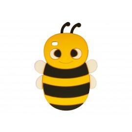 Coque silicone pour Ipod Touch 4 abeille jaune + film protection écran