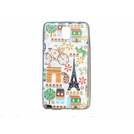 Coque pour Samsung Galaxy Note 3/N9000 Paris Vélo + film protection écran offert