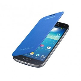 Flip cover origine Samsung Galaxy S4 I9500 bleu roi+ film protection écran