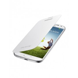 Flip cover origine Samsung Galaxy S4 I9500 blanc + film protection écran