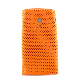 Coque mate microperforée pour Sony Ericsson  X10 Xperia + film protection ecran offert
