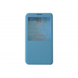 Pochette Inote pour Samsung Galaxy Note 3 N9000 bleue + film protection écran