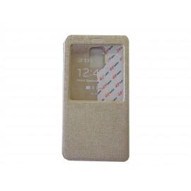 Pochette Inote pour Samsung Galaxy Note 4 N910 or + film verre trempé incassable