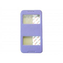 Pochette Inote pour HTC Desire 816 violette + film protection écran