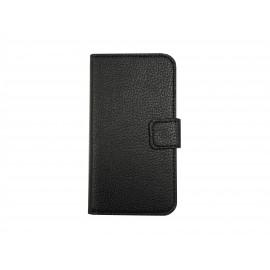 Pochette pour Samsung Galaxy Core Plus G350 noire + film protection écran offert