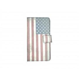 Pochette pour Samsung Galaxy Alpha G850 USA/Etats-Unis + film protection écran