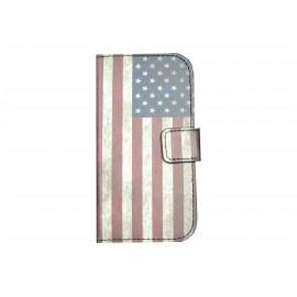 Pochette pour Samsung Galaxy Trend Lite S7390 USA/Etats-Unis+ film protection écran