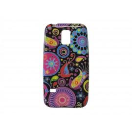 Coque TPU Samsung Galaxy S5 Mini G800 cachemire + film protection écran offert