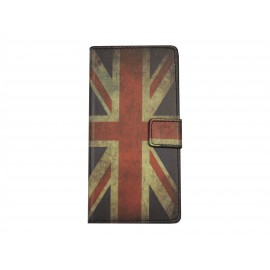 Pochette pour Sony Xperia Z3 compact UK/Angleterre + film protection écran