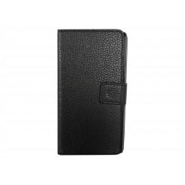 Pochette pour Sony Xperia M2 noire + film protection écran offert